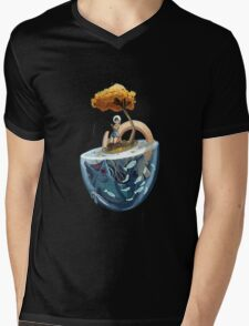 Catching Gravity Mens V-Neck T-Shirt