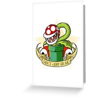 Don't Jump On Me! Greeting Card