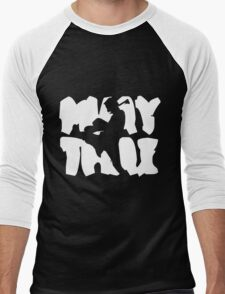 Muay Thai Men's Baseball ¾ T-Shirt