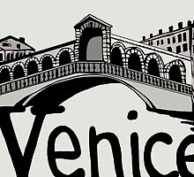 Rialto bridge Venice by Logan81