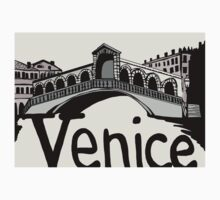 Rialto bridge Venice One Piece - Short Sleeve