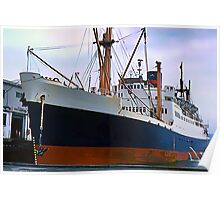 RMS Newfoundland, Ocean Liner Ship in Halifax Poster