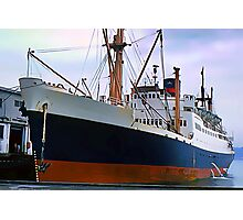 RMS Newfoundland, Ocean Liner Ship in Halifax Photographic Print