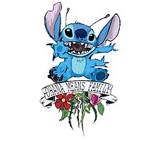Lilo and Stitch - Ohana Means Family Photographic Print