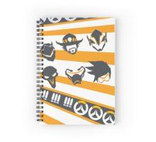 Offense Spiral Notebook