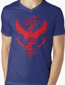 Team Valor before Glory! Mens V-Neck T-Shirt