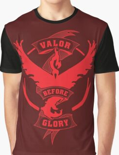 Team Valor before Glory! Graphic T-Shirt