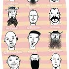 Beards of Australia by clootie