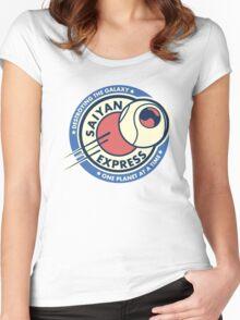 Saiyan planet Express Women's Fitted Scoop T-Shirt