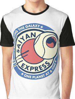 Saiyan planet Express Graphic T-Shirt