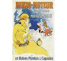 Vintage Jules Cheret Benzo Moteuur Photographic Print
