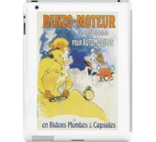 Vintage Jules Cheret Benzo Moteuur iPad Case/Skin