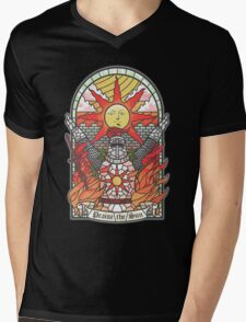 Church of the Sun Mens V-Neck T-Shirt