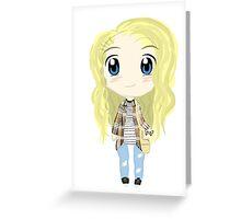 cute claire novak Greeting Card