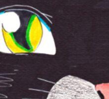 black cat 2.0 Sticker