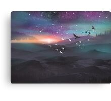 NORTHERN SKY Canvas Print