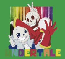 Brothers - Undertale One Piece - Short Sleeve