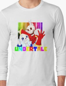 Brothers - Undertale Long Sleeve T-Shirt