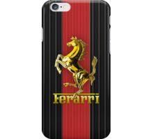 Ferrari Lover #3 [Gold - Red] iPhone Case/Skin