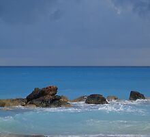 Rocks Under the Waves by Leighann Darville