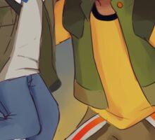 Voltron Lance & Hunk Sticker