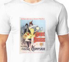 Vintage Jules Cheret L'Amant des Danseuses 1896 Unisex T-Shirt