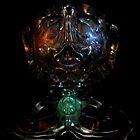 Alien Head VII by Hugh Fathers