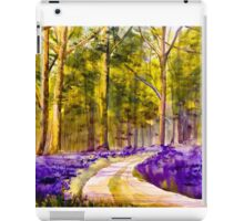 Bluebell Walk iPad Case/Skin