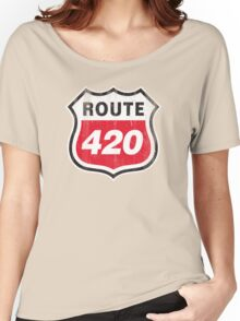 Vintage Route 420 Women's Relaxed Fit T-Shirt