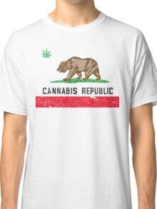 Vintage Cannabis Republic Classic T-Shirt