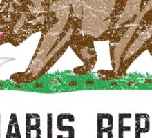 Vintage Cannabis Republic Sticker