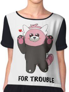 BEWEAR for Trouble Chiffon Top