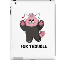 BEWEAR for Trouble iPad Case/Skin