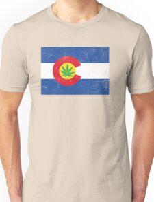 Vintage Colorado Cannabis Unisex T-Shirt