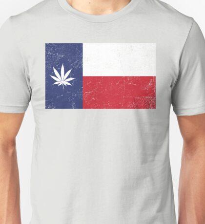 Vintage Texas Cannabis Unisex T-Shirt
