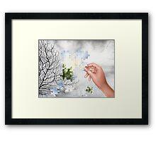 Piece by Piece Framed Print