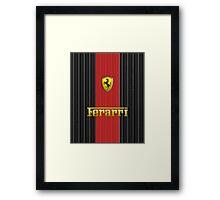 Ferrari Lover #3 [Gold - Red] #2 Framed Print