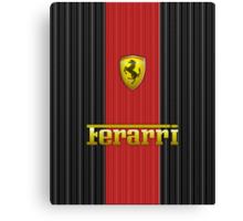 Ferrari Lover #3 [Gold - Red] #2 Canvas Print