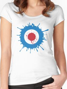Mod Splat Women's Fitted Scoop T-Shirt