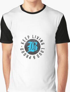 Beartooth - Keep Living Loud & Proud TURQUOISE Graphic T-Shirt