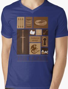 I'm going on an adventure! Mens V-Neck T-Shirt
