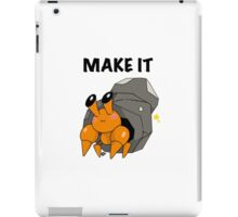 Make it DWEBBLE iPad Case/Skin