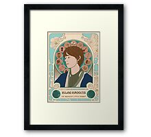The Bravest Little Hobbit Framed Print