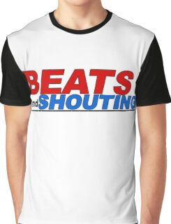 Beats and Shouting Graphic T-Shirt