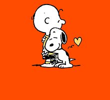 love it snoopy hug Unisex T-Shirt