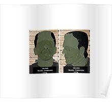 Monster Mug Shot Poster