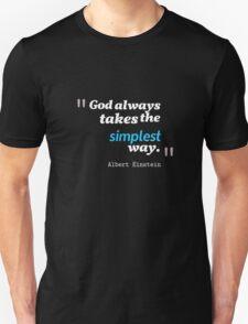 A. Einstein Quote Unisex T-Shirt