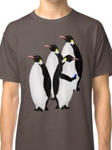 Penguin Using A Cell Phone Classic T-Shirt