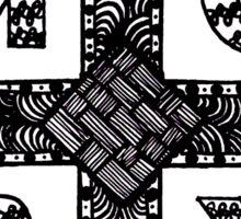 My Chemical Romance MCRX Zentangle Sticker