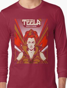 Teela : Masters Of The Universe Long Sleeve T-Shirt